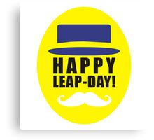 leap day Canvas Print