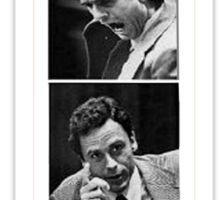 Ted Bundy Serial Killer Sticker