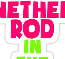 Let's Marinate the Nether Rod in the Squish Mitten Sticker