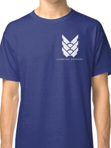 Halo - Misriah Armory (White Logo) Classic T-Shirt