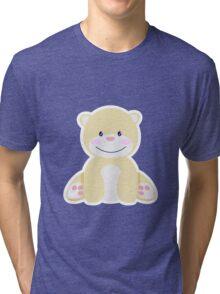 Little pretty polar bear in iceberg Tri-blend T-Shirt