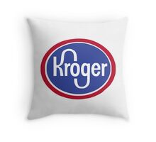 murder kroger Throw Pillow