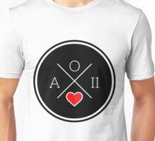 aoii circle heart Unisex T-Shirt