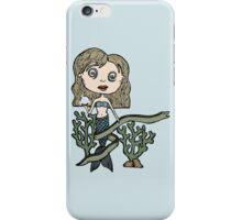 trippy mermaid - color iPhone Case/Skin