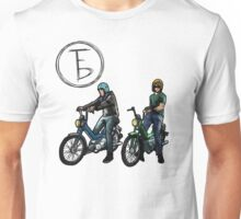 The Frontbottoms Motorcycle Club Unisex T-Shirt