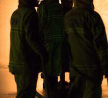CFA fire brigade band of brothers Sticker