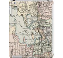 Vintage Map of Salt Lake City (1891) iPad Case/Skin