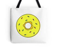 donut - yellow Tote Bag