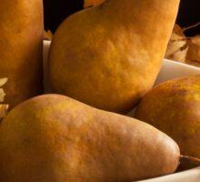 Pears And Hydrangea Still Life  Sticker