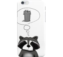 Cool Raccoon iPhone Case/Skin