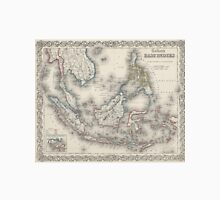Vintage Map of Indonesia and The Philippines Unisex T-Shirt