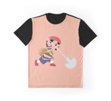 Ness Pixel Silhouette Graphic T-Shirt