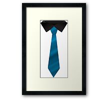 The Tie Framed Print