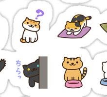 Neko Atsume Cats Cats Cats Sticker