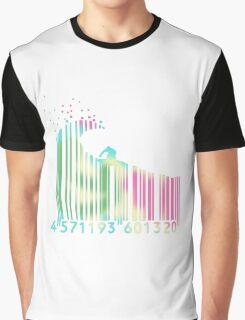 Surf barcode Graphic T-Shirt