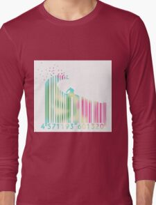 Surf barcode Long Sleeve T-Shirt