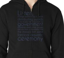 I Didn't Vote for You Zipped Hoodie