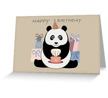 PANDA HAPPY BIRTHDAY Greeting Card