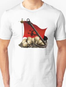 The Remains Of Piracy Unisex T-Shirt