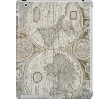 Vintage Map of The World (1651) iPad Case/Skin