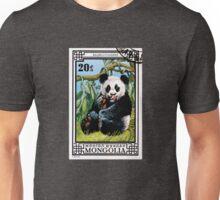 Panda Bear 1974 Postage Stamp Mongolia  Unisex T-Shirt