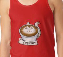 Cat'puccino Tank Top