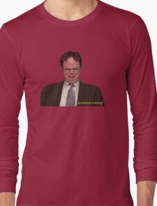 """""""Do I Care That Michael Didn't Invite Me to His Dinner Party?"""" Long Sleeve T-Shirt"""
