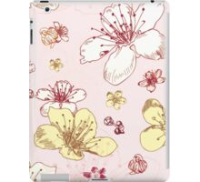 Soft Floral Blossoms iPad Case/Skin