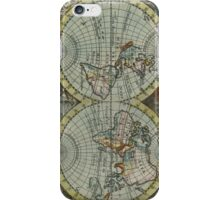 Vintage Map of The World (1682) iPhone Case/Skin