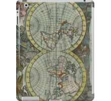 Vintage Map of The World (1682) iPad Case/Skin