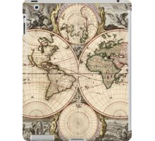Vintage Map of The World (1690) iPad Case/Skin