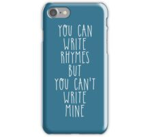 My name is Philip, i am a poet iPhone Case/Skin