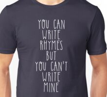My name is Philip, i am a poet Unisex T-Shirt