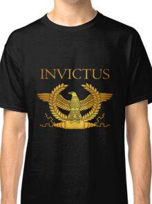Roman Invictus Eagle, Golden on Black Classic T-Shirt