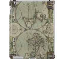Vintage Map of The World (1702) iPad Case/Skin