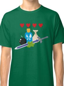 Legend of Zelda Items Classic T-Shirt