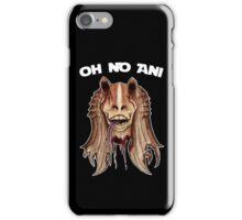 Oh No Ani - Dead Jar Jar iPhone Case/Skin