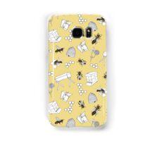 Beekeeper Print in Buttercup Yellow Samsung Galaxy Case/Skin