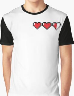8Bit Heart - Legend of Zelda Graphic T-Shirt