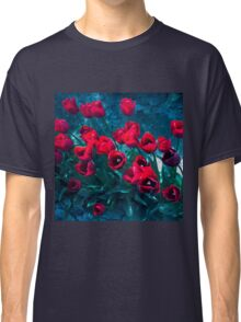 Red Tulips photograph Classic T-Shirt