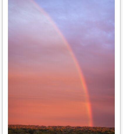 Sunset Rainbow Sticker