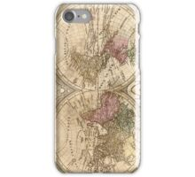 Vintage Map of The World (1775) 3 iPhone Case/Skin