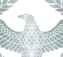 Roman Silver Invictus Eagle Sticker