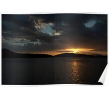 Bellingham Bay, Washington Poster