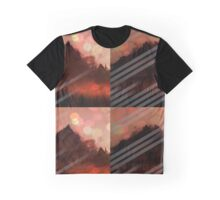Mountainous Fade Graphic T-Shirt