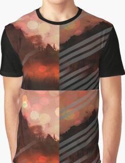 Mountainous Fade Graphic T-Shirt