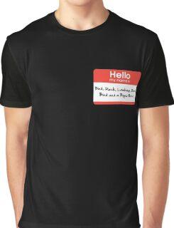 Pharoah Atem Name Tag Graphic T-Shirt