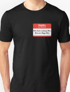 Pharoah Atem Name Tag Unisex T-Shirt