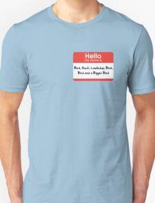 Pharoah Atem Name Tag Unisex T-Shirt