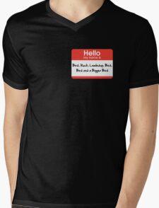 Pharoah Atem Name Tag Mens V-Neck T-Shirt